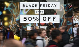 'Black Friday' sales on Oxford Street in London