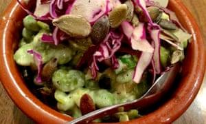 Food temple salad