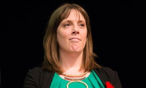 Jess Phillips pictured winning her seat for Birmingham Yardley at the General Election count in 2015
