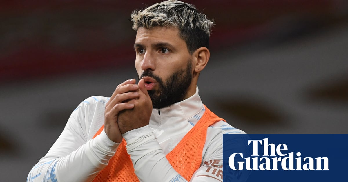 Manchester City hit by more Covid problems as Sergio Agüero tests positive