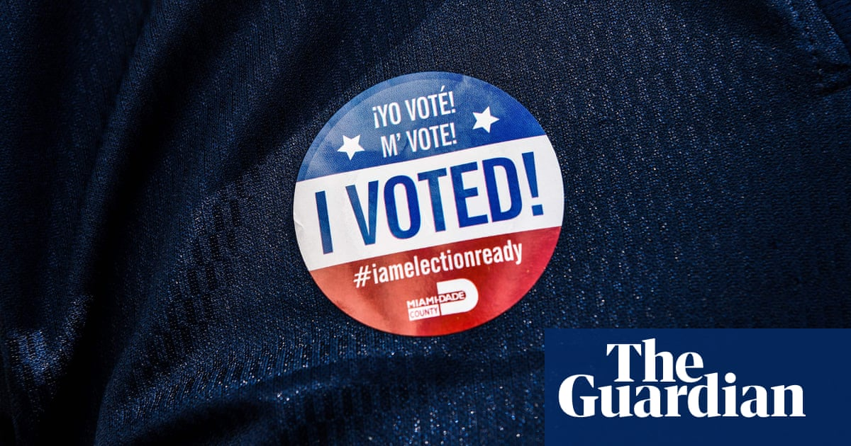 Facebook plans voter turnout push – but will not bar false claims from Trump