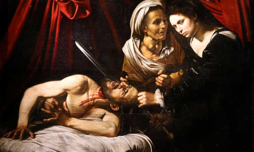 Judith Beheading Holofernes, a disputed Caravaggio discovered in an attic in Toulouse.