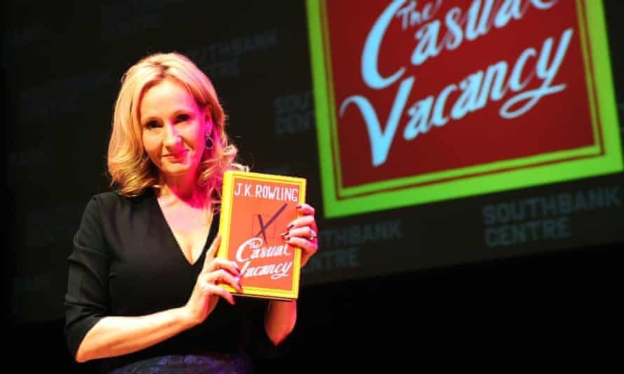 Rowling novel for adults on saleJK Rowling launches her first novel for adults, The Casual Vacancy, at Queen Elizabeth Hall, Southbank Centre, London. PRESS ASSOCIATION Photo. Picture date: Thursday September 27, 2012. See PA story ARTS Rowling. Photo credit should read: Ian West/PA Wire