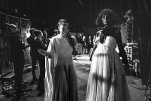 Naomi Ackie and Jodie Turner-Smith presented the award for best documentary