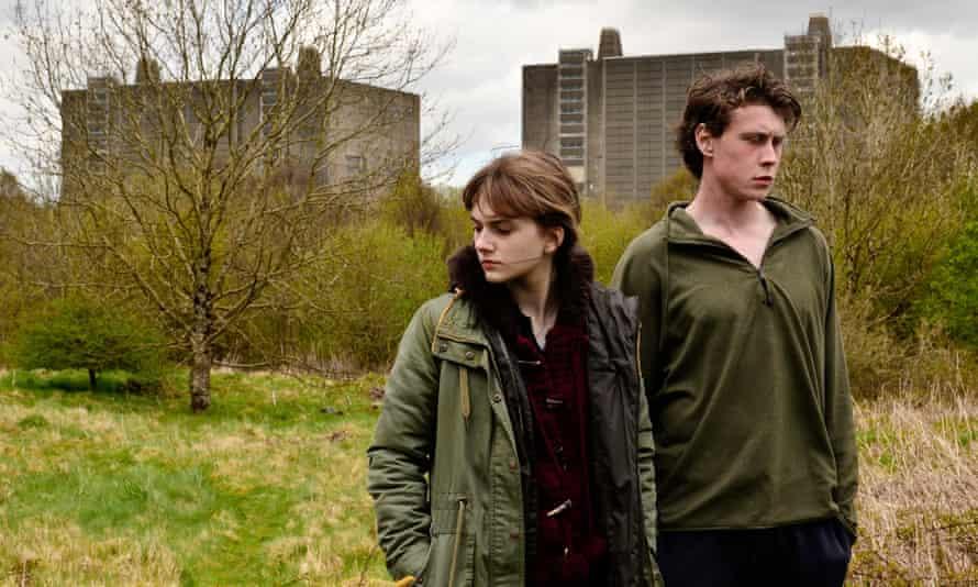 Bad energy … Emilia Jones and George McKay in Nuclear.