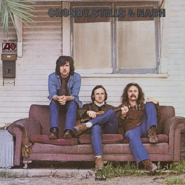 The first Crosby, Stills & Nash album cover.