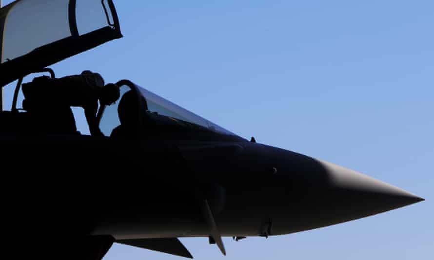An RAF Eurofighter Typhoon