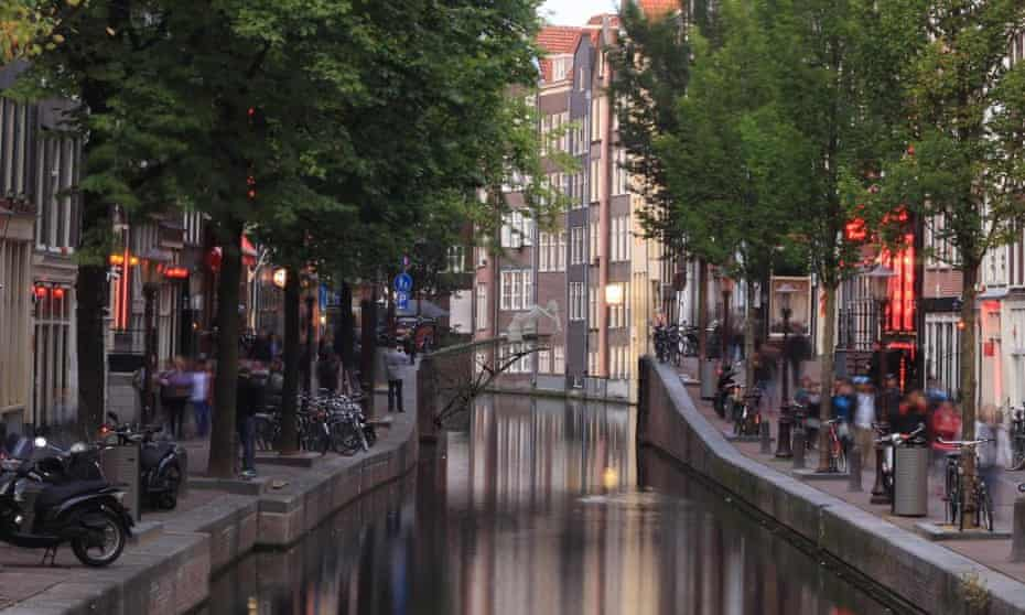 An artist's impression of plans by a Dutch startup MX3D to build the world's first 3D-printed bridge across an Amsterdam canal, a technique that could become standard on future construction sites. 17 July 2015