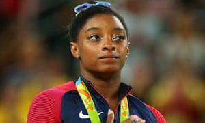 Simone Biles made her announcement on Twitter on Monday