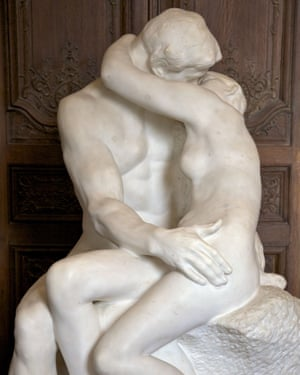 The Kiss by Auguste Rodin.