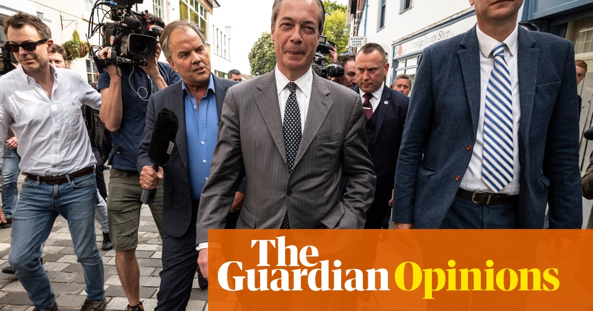 Why is Nigel Farage immune to scandals that would destroy his rivals? | Jonathan Freedland