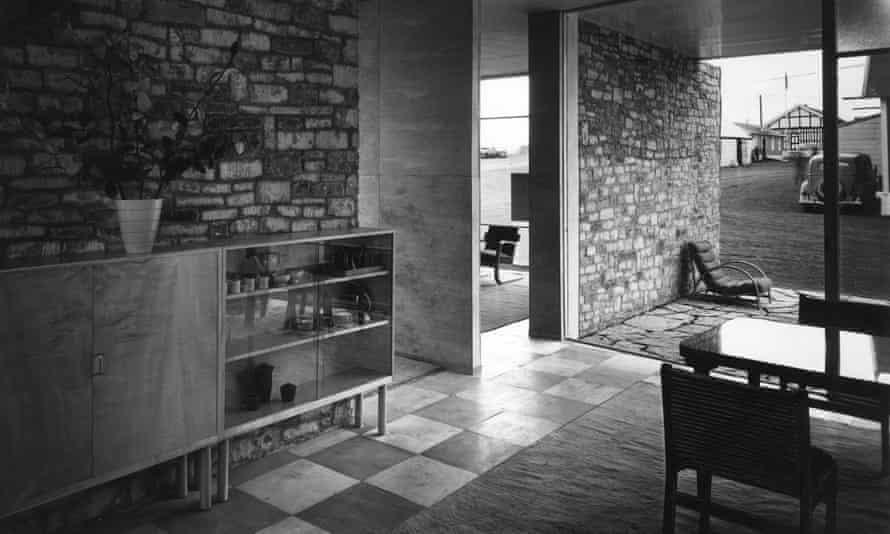 California dream … the pavilion for furniture manufacturer PE Gane at the Bristol Royal Show, 1936.
