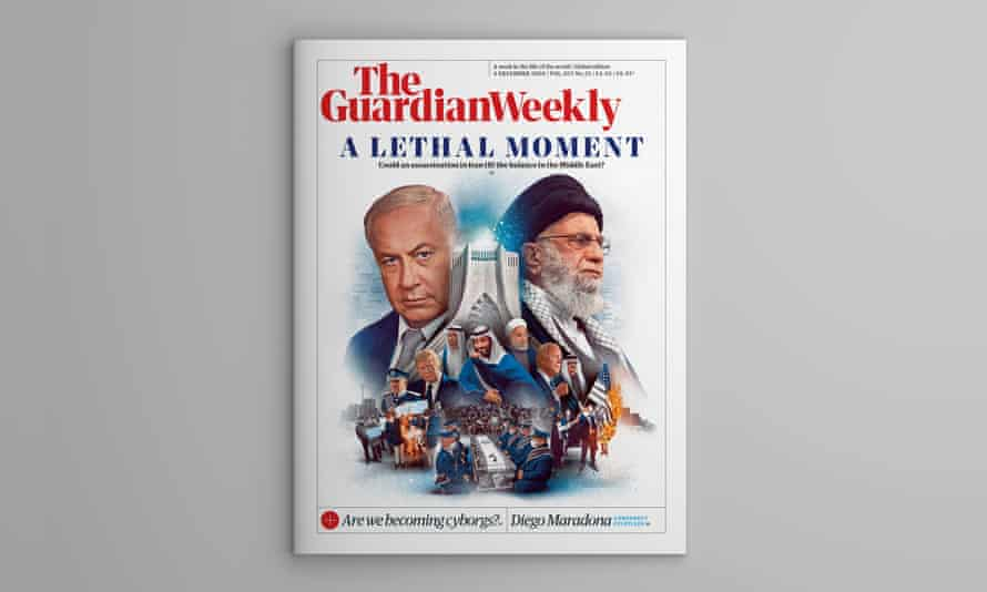 The cover of the Guardian Weekly 4 December edition.