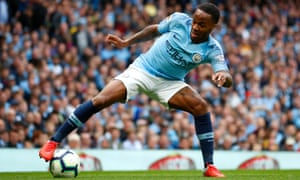 Manchester City are 'delighted' with Raheem Sterling and want him to extend his contract, according to Pep Guardiola.