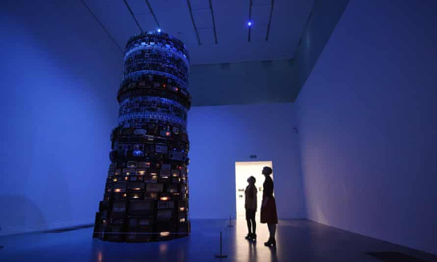 Tower of power ... Babel by Brazilian artist Cildo Meireles in the newly unveiled Switch House.