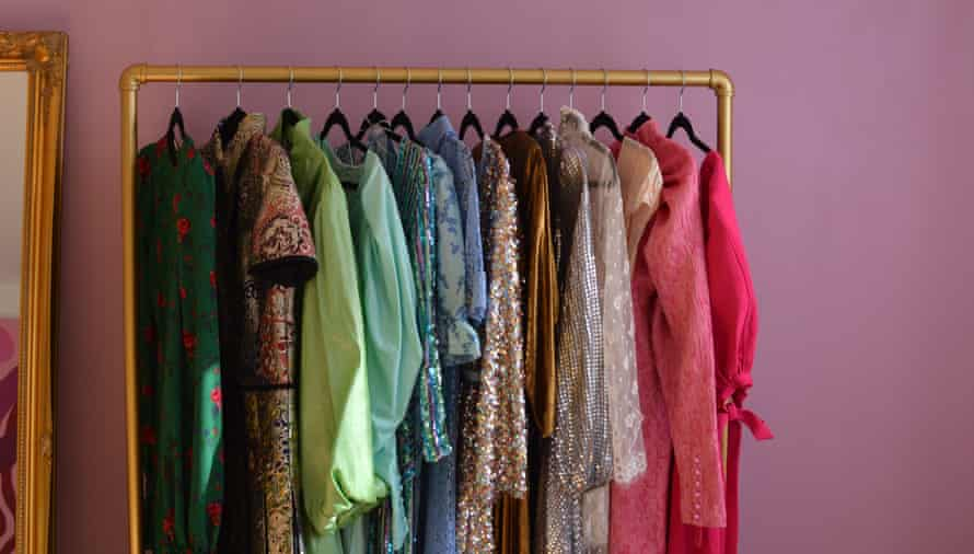'That dopamine dressing thing' … rental clothes at By Rotation.