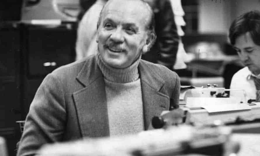 Herbert Kretzmer in the 1980s. He referred to himself as 'a newspaperman' first and a lyricist second.