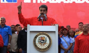 Venezuelan President Nicolas Maduro accuses the US government of trying to foment a coup against him.