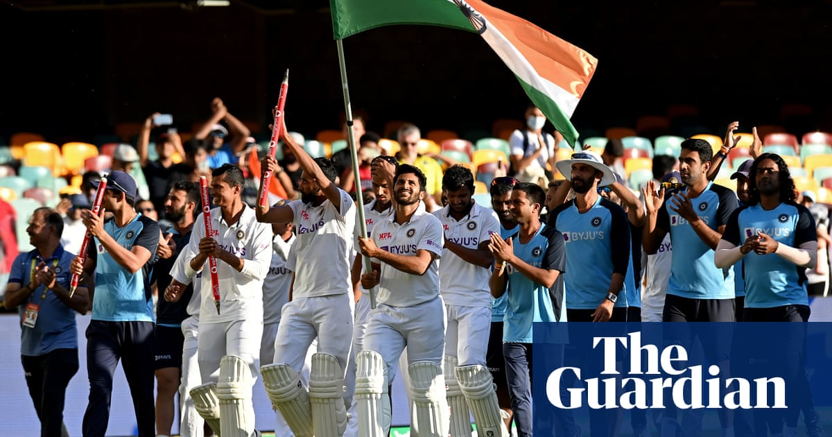 Plunder down under: India revels in cricket teams shock victory at Gabba