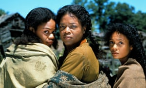Kimberly Elise, Oprah Winfrey and Thandie Newton in the 1998 film of Beloved