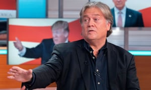 Steve Bannon on Good Morning Britain earlier this month.