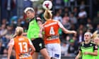 Australia Sportwatch: Brisbane outclass Canberra in W-League, A-League and more - as it happened