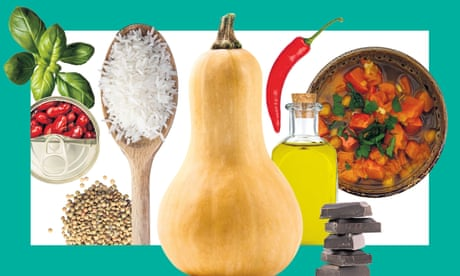 Larder living: 10 of the best store cupboard recipes – from chilli to pizza