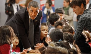 """Obama: """"It's time to start rewarding good teachers, stop making excuses for bad ones."""""""