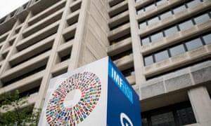 The IMF headquarters in Washington.