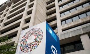 The International Monetary Fund Headquarters in Washington, D.C.