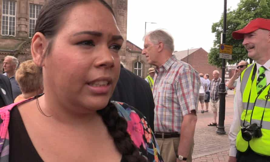 Chantelle, a voter in Leigh