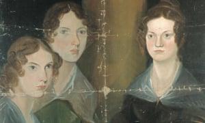Branwell Brontë's portrait of his sisters.