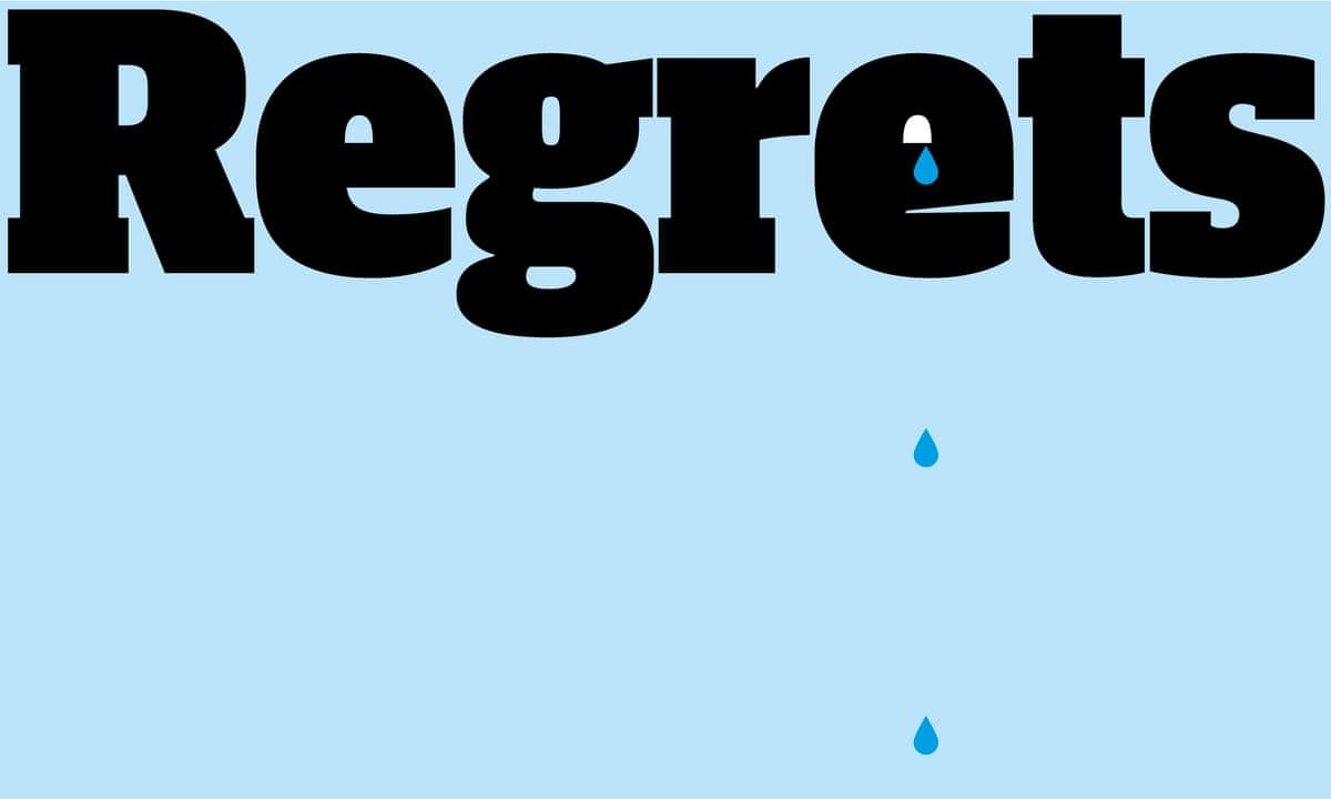 real simple regret essay