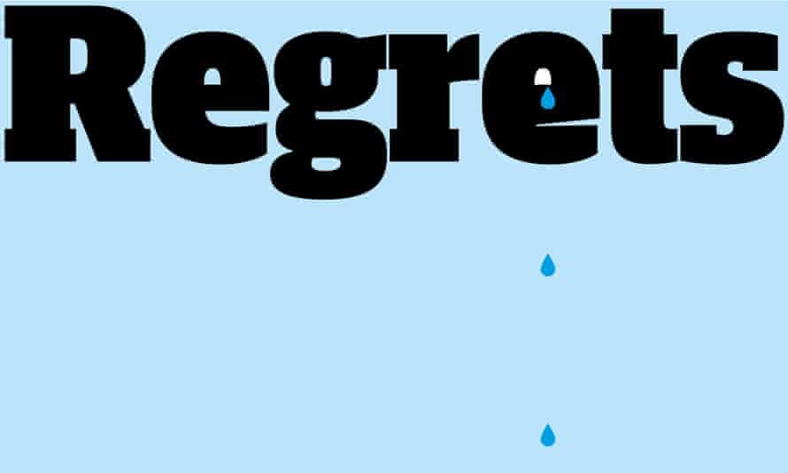 Regrets graphic