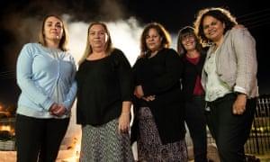 Dr Shauna Hill, Dr Robyn Williams, Dr Christine Clinch, Dr Paula Edgill and Prof Sandra Eades
