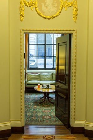 The Governor's meeting room