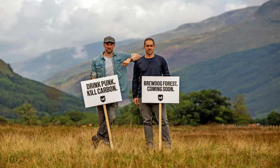 BrewDog are investing in a range of measures to become carbon neutral
