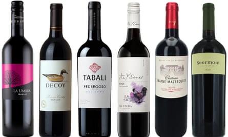 OFM October wine Merlot