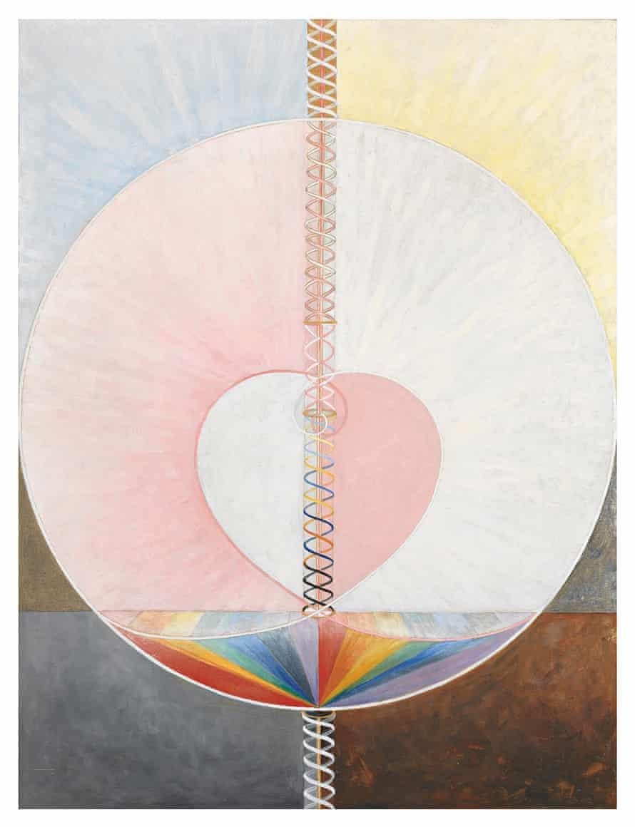 The Dove, Noi by Hilma af Klint.