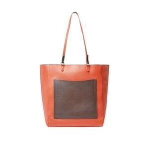 Block colour leather bag, £99, marksandspencer.com