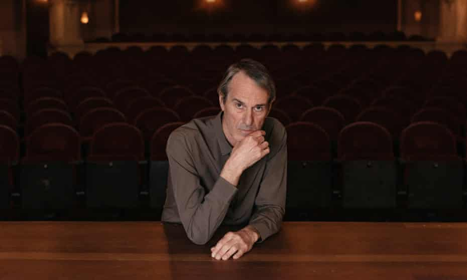 Ivo van Hove photographed at International Theater Amsterdam this month by Nick Helderman for the Observer New Review.