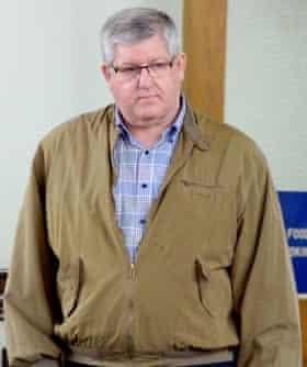 Bernie Tiede at his sentencing hearing, April 2016
