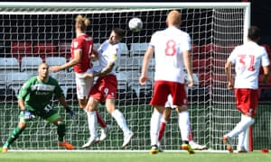 Daryl Murphy heads home Nottingham Forest's equaliser
