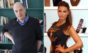 Alain de Botton and Katie Price