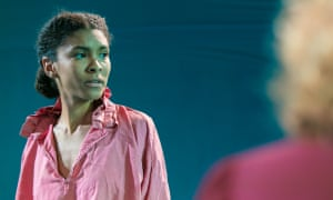 Thalissa Teixera in The Unknown Island at the Gate theatre.