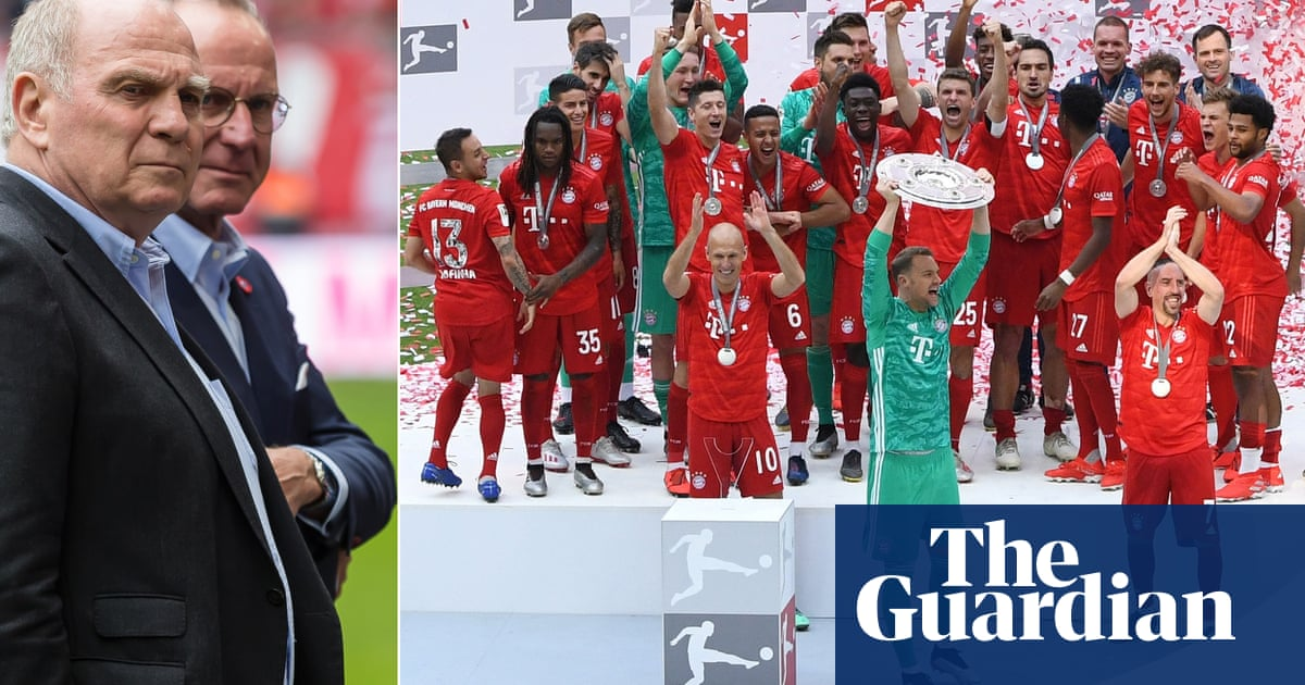 Bayern Munich and the problem of letting Hoeness and Rummenigge go