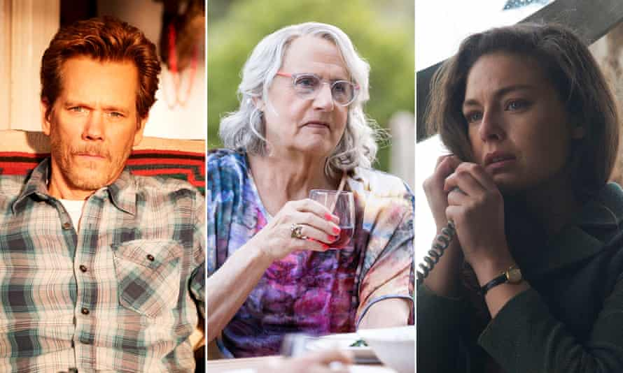 Kevin Bacon in I Love Dick, Jeffrey Tambor in Transparent and Alexa Davalos in The Man in the High Castle.
