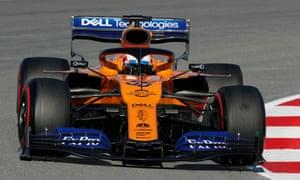 McLaren's senior driver Carlos Sainz Jr