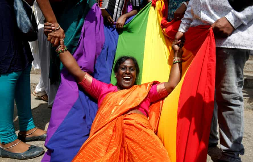 India decriminalises homosexuality