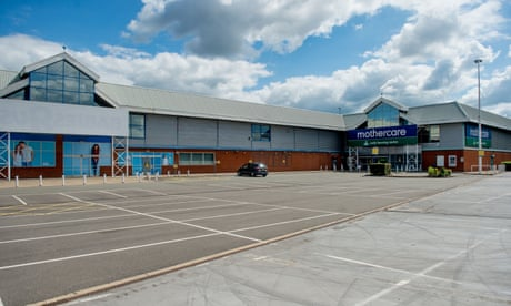 The UK's retail parks were once the future. Now they look like drab relics of the past